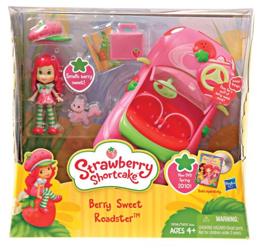 Strawberry Shortcake with Toy Convertible