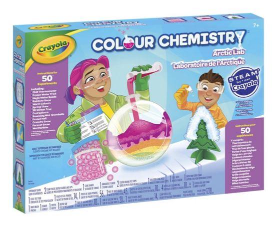 Ensemble de laboratoire Crayola Colour Chemistry Image de l'article