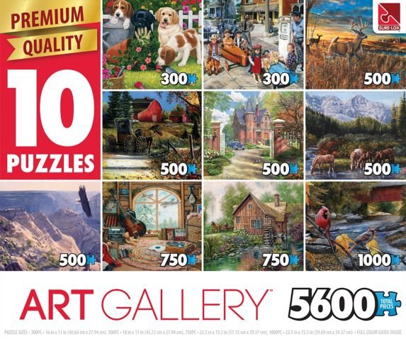 10-in-1 Puzzle, Assorted Product image