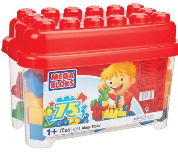 Mega Bloks 75 Piece Tub Product image