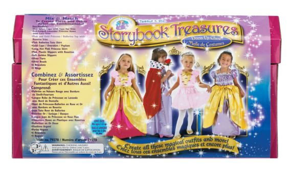 Story Book Treasures Dress Up Chest, 18-pc Product image