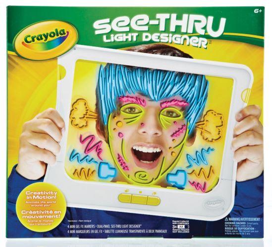Tableau de dessins lumineux et transparents Crayola Image de l'article
