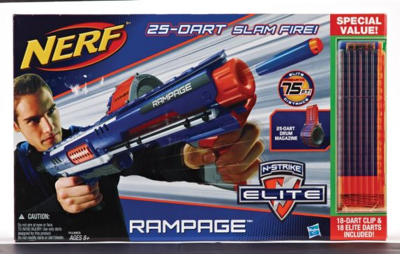 Nerf Elite Rampage Plus Ammo Kit Product image