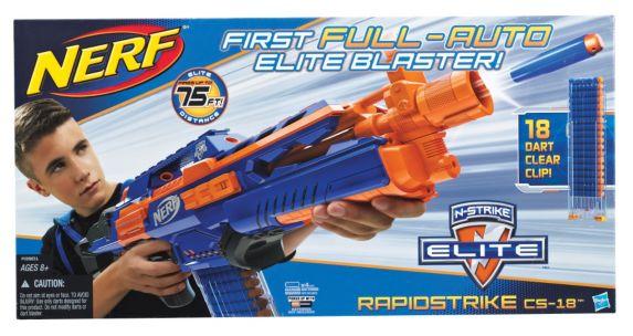 Nerf Rapid Strike Elite Blaster Product image
