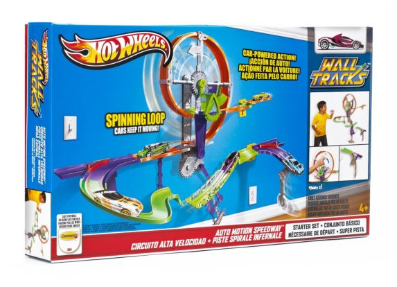 Hot Wheels Wall Tracks Auto Motion Speedway Product image