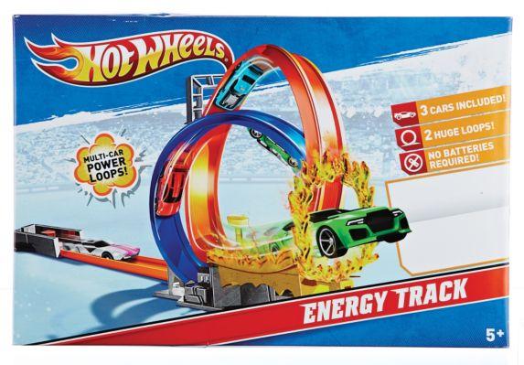 Jeu Hot Wheels Energy Track