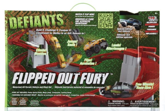 Defiants Flipped Out Fury Playset Product image