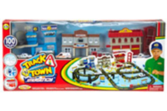 Track and Town Play Set, 100-pc Product image