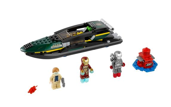 LEGO® Ultra Agents Ultracopter vs. Antimatter, 614-pcs Product image