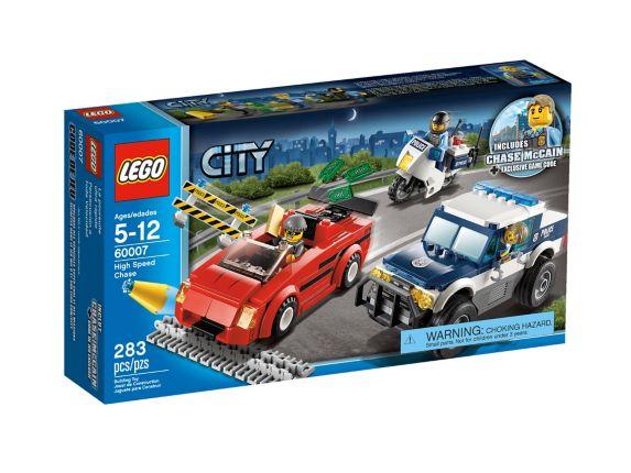 LEGO® City, La course poursuite, 283 pièces Image de l'article