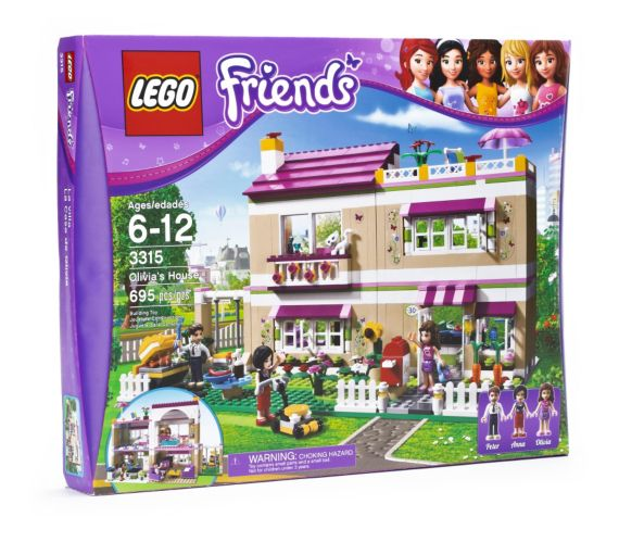 LEGO® Friends Olivia Garden Pool, 82-pcs