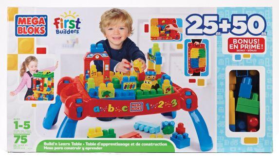 Table First Builders et blocs en prime Image de l'article