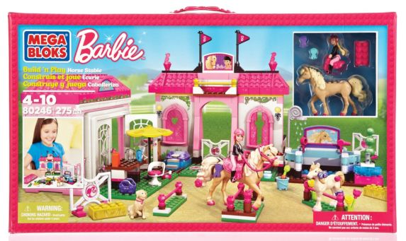 Barbie Build 'n Style Pony Stable Product image