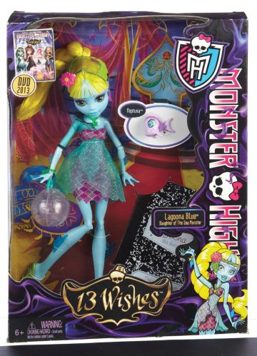 Monster High 13 Wishes Dolls Product image