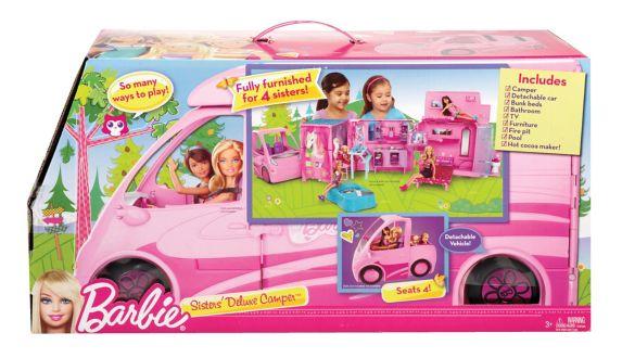 Caravane de luxe des soeurs de Barbie Image de l'article