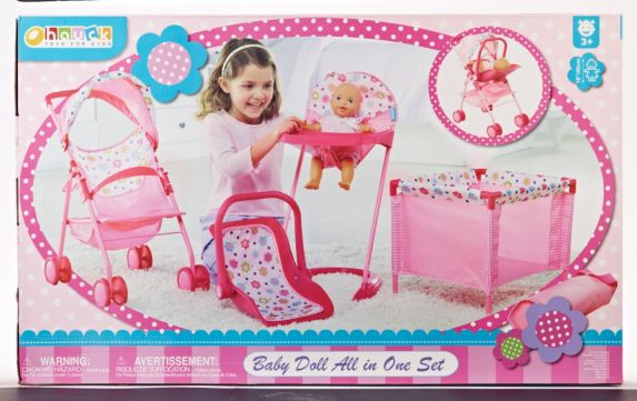 All-in-One Baby Doll Set