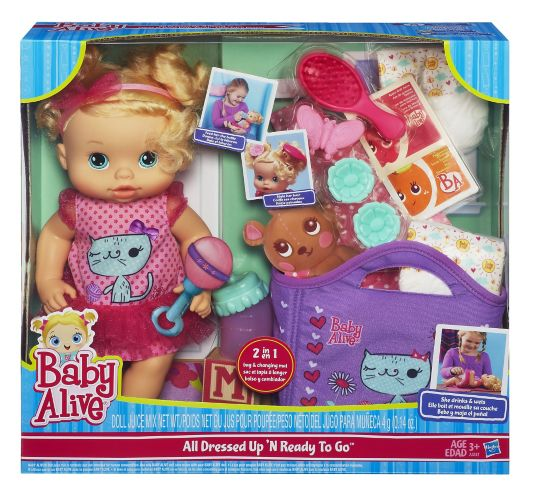 Baby Alive Pretty Baby Gift Set