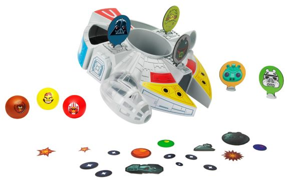 Angry Birds Star Wars Millennium Falcon Bounce Game Product image