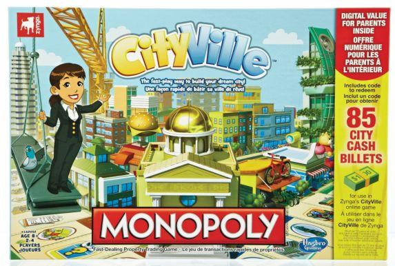 Jeu Monopoly CityVille Image de l'article