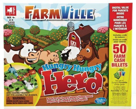 Jeu Farmville Hungry Hungry Herd Image de l'article