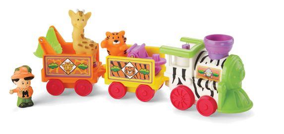 Little People Musical Zoo Train