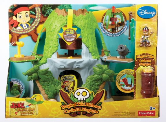 Jake and the Never Land Pirates Jake's Magical Tiki Hideout Product image