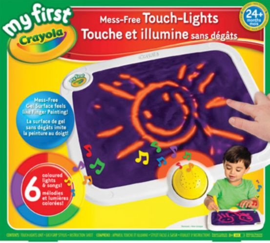 Mon premier tableau lumineux Crayola Touch Lights