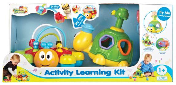 Jeu d'activités éducatives, tortue et coccinelle