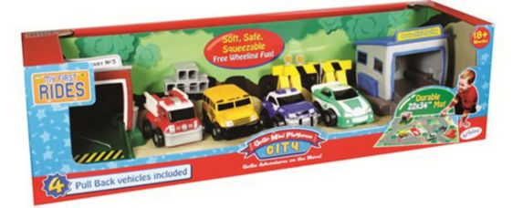 Mini Pull Back Vehicles Play Set Product image