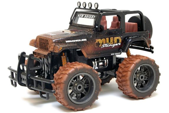1:10 Scale RC 9.6V Ram or Mud Jeep