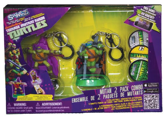 Teenage Mutant Ninja Turtle 2-pk with Game Product image