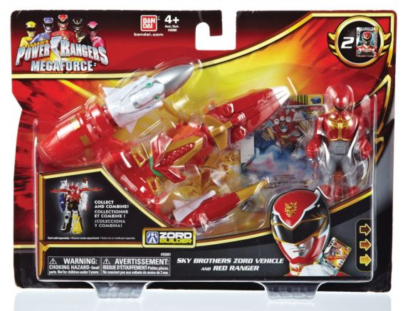 Power Rangers Zord Vehicle and Figure Product image