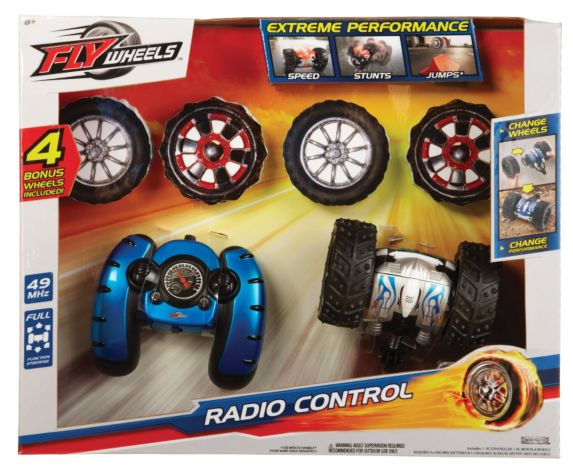 RC Fly Wheels Car with 6 Wheels