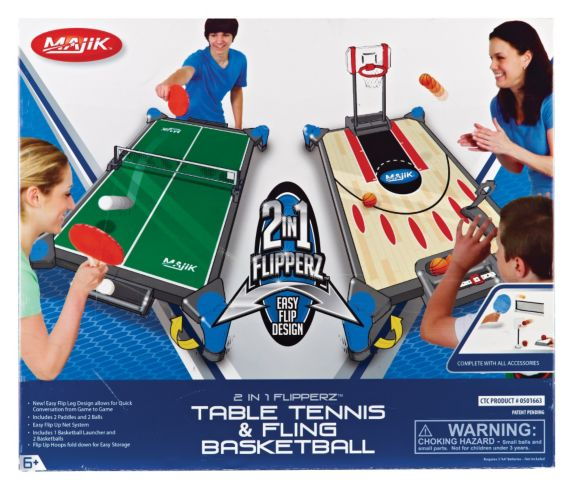 Flipperz 2-in-1 Hockey and Football Game Product image