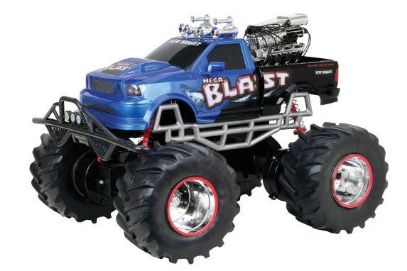 Camion téléguidé Mega Blast à l'échelle 1:8