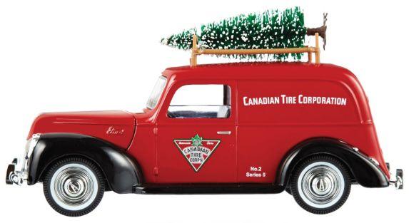 Camionnette de livraison Canadian Tire à collectionner Image de l'article