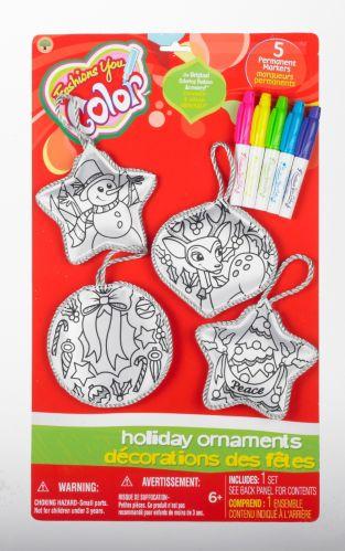 Décorations de Noël à colorier Image de l'article