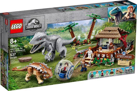 LEGO<sup>MD</sup> Monde jurassique, Indominus Rex contre Ankylosaure Image de l'article