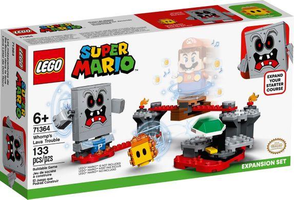 LEGO<sup>MD</sup> Super Mario Ensemble d'extension Whomp's Lava Trouble – 71364 Image de l'article