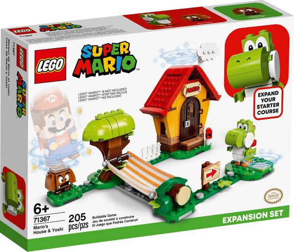 LEGO<sup>MD</sup> Super Mario Ensemble d'extension Mario's House & Yoshi – 71367 Image de l'article