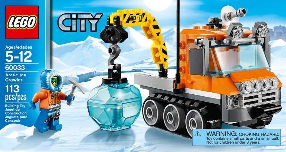 LEGO City, L'hélicoptère arctique, 262 pièces Image de l'article