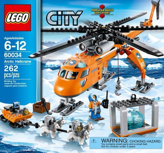 LEGO City, Le camp de base arctique, 735 pièces