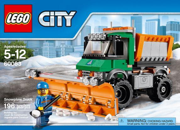 LEGO City, Le camion grue, 233 pièces Image de l'article