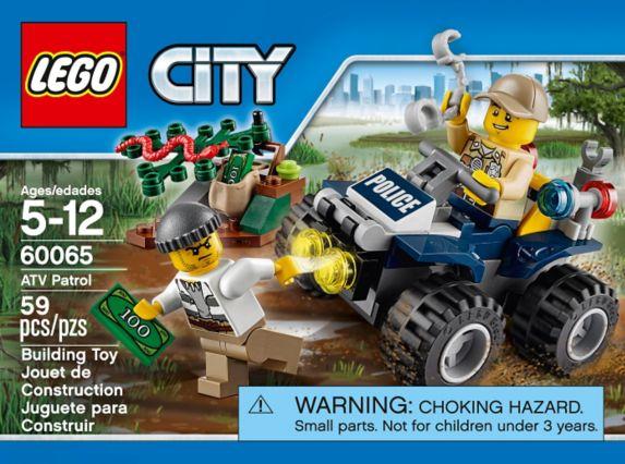 LEGO® City Arctic Snowmobile, 44-pcs Product image