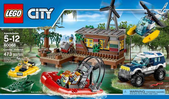 LEGO® City Crook Pursuit, 38-pcs Product image