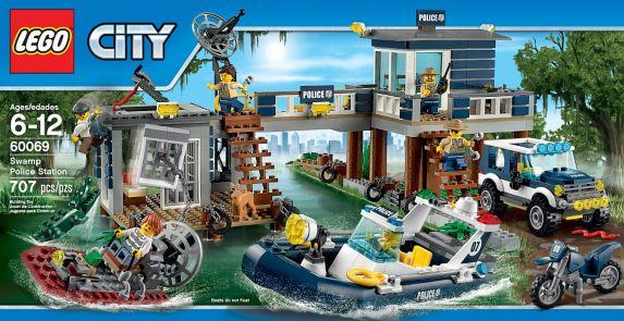 LEGO City, Ensemble de départ de la police des marais, 78 pc Image de l'article