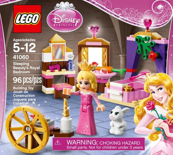 Lego Disney Princess Sleeping Beauty's Royal Bedroom, 96-pc Product image