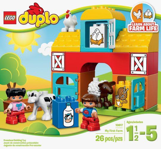 LEGO® Duplo Mom and Baby, 13-pcs