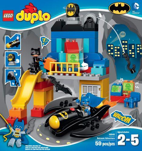 LEGO Duplo, défi de la Batcave Image de l'article