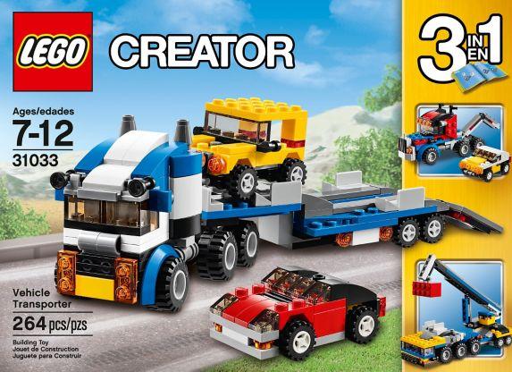 LEGO Creator, L'avion à double hélices, 216 pièces